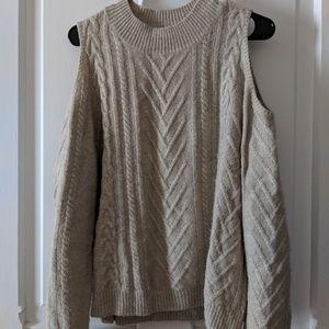 Abound Cold-Shoulder Sweater